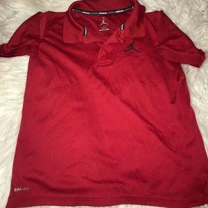 Jordan Polo Red